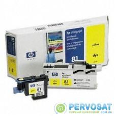 Печатающая головка HP №81 yellow DesignJ5000 (C4953A)