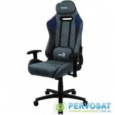 Кресло игровое AeroCool DUKE Steel Blue