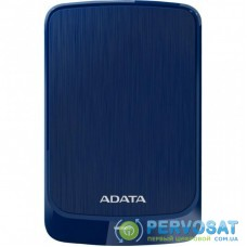 """Внешний жесткий диск 2.5"""" 1TB ADATA (AHV320-1TU31-CBL)"""