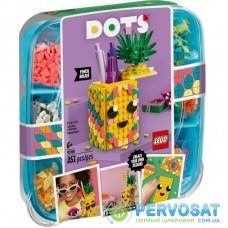 Конструктор LEGO DOTs Подставка для карандашей Ананас 351 деталей (41906)