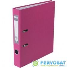 Папка - регистратор BUROMAX А4, 50мм, JOBMAX PP, pink, built-up (BM.3012-10c)