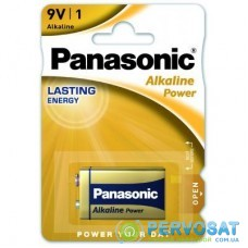 Батарейка PANASONIC Крона 6LR61 Alkaline Power * 1 (6LF22APB/1BP)