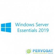 ПО для сервера Microsoft Windows Svr Essentials 2019 64Bit Russian DVD 1-2CPU (G3S-01308)