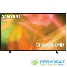 """Телевiзор 65"""" LED 4K Samsung UE65AU8000UXUA Smart, Tizen, Black"""