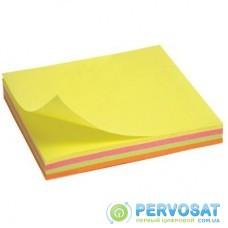 Бумага для заметок Axent with adhesive layer 75x75мм, 100sheets.,neon colors mix (2325-02-А)