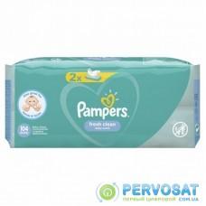Влажные салфетки Pampers Fresh Clean 2х52 шт (8001841077703)