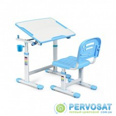 Парта со стулом Evo-kids Evo-07 Blue