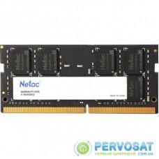 Модуль памяти для ноутбука SoDIMM DDR4 8GB 2666 MHz Netac (NTBSD4N26SP-08)
