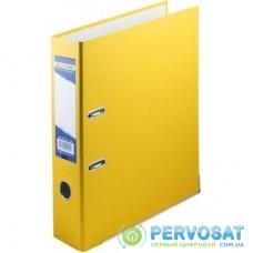 Папка - регистратор Buromax А4, 70мм, JOBMAX PP, yellow, built-up (BM.3011-08c)