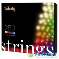 Гирлянда Twinkly Smart LED Pro Strings RGBW 250, двойная линия, AWG22, IP65, (TWP-S-CA-2X125SPP-T)