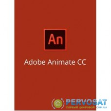 ПО для мультимедиа Adobe Animate CC / Flash Professional CC teams Multiple/Multi Lang (65297552BA01A12)