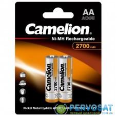 Аккумулятор Camelion AA 2700 mAh Ni-MH * 2 R6-2BL (NH-AA2700BP2)