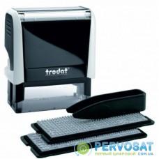Самонаборный штамп Trodat серия Imprint, 3-х строчный (8911) +касса 6003 (8951I/3/U)