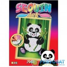 Набір для творчості Sequin Art RED Панда Паз SA1414