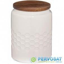 Емкость для сыпучих продуктов Kela Mellis White 0,8 л 10,5х14,5 см (12084)