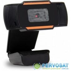 Веб-камера Okey HD 720P Black/Orange (WB100)