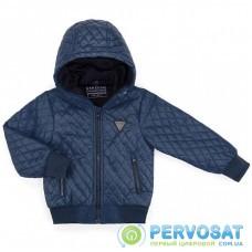Куртка Verscon стеганая с капюшоном (3440-134B-blue)