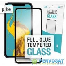 Пленка защитная Piko Full Glue iPhone XR/11 black (1283126487330)
