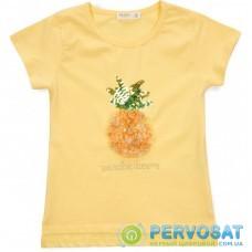 Футболка детская Breeze с ананасом (15949-128G-yellow)