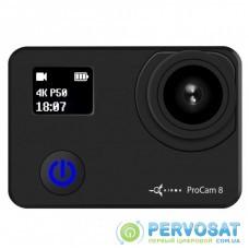 Экшн-камера AirOn ProCam 8 Black 12 in 1 Blogger's Kit (4822356754795)