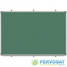 Школьная доска Sector магнитно-меловая, 150х100 см (К1510)