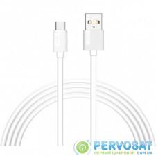 Дата кабель USB 2.0 AM to Type-C 1.2m Nets T-C801 White T-Phox (T-C801 white)
