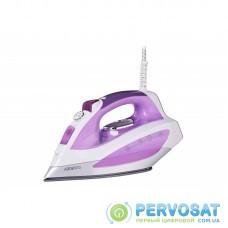 Праска Ardesto IR-C2240-VT/2200Вт/400мл /пар/ самоочищення /антикапля /керам.под /світл.індик / фіолетовий