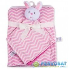 Детское одеяло Luvable Friends в комплекте с салфеткой для девочек (50446.BP.F)