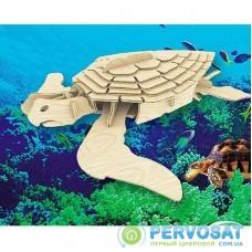 Сборная модель Мир деревянных игрушек Морская черепаха (Е009)