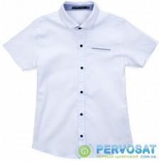 Рубашка Blueland с коротким рукавом (10681-146B-white)