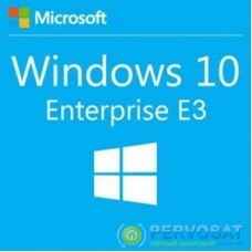 Операционная система Microsoft Windows 10 Enterprise E3 Upgrade 1 Year Corporate (39504991_1Y)