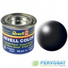 Аксессуары для сборных моделей Revell Краска эмалевая № 302. Черная шелково-матовая, 14 мл (RVL-32302)