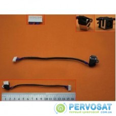 Разъем питания ноутбука с кабелем для Dell PJ541 (7.4mm x 5.0mm + center pin), 8(7)- универсальный (A49059)