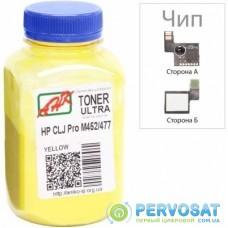 Тонер HP CLJ Pro M452/477, +Apex chip, 100г Yellow AHK (3203130)