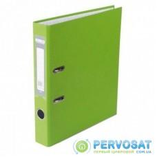 Папка - регистратор BUROMAX А4, 50мм, JOBMAX PP, light green, built-up (BM.3012-15c)