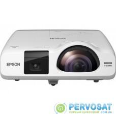 Короткофокусний проектор Epson EB-536Wi (3LCD, WXGA, 3400 ANSI Lm)