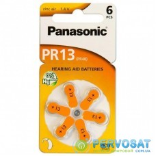 Батарейка PANASONIC PR48 / PR13 (1.4V) * 6 (PR-13/6LB)