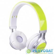 Наушники Vinga HSM040 White/Green (HSM040WG)