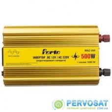 Автомобильный инвертор 12V/220V 500W, чистая синусоида PORTO (MNZ-500)