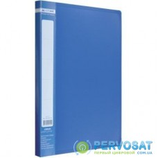 Папка-скоросшиватель BUROMAX А4 JOBMAX, blue (BM.3406-02)