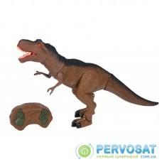 Same Toy Динозавр - Тиранозавр коричневый (свет, звук) RS6123Ut