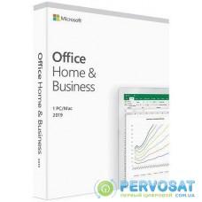 Програмне забезпечення Microsoft Office Home and Business 2019 English Medialess P6