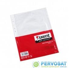 Файл Axent А4+ Glossy, 30 мкм (100 шт.) (2007-00-А)