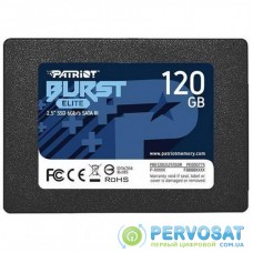 "Накопитель SSD 2.5"" 120GB Burst Elite Patriot (PBE120GS25SSDR)"