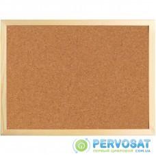 Офисная доска Axent пробковая, 60х90 см., деревянная рамка (9602-A)