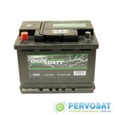 Аккумулятор автомобильный GigaWatt 60А (0185756027)