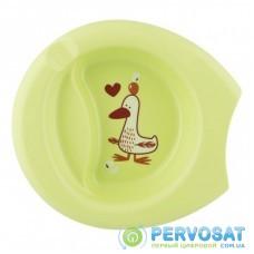 Набор детской посуды Chicco тарелка Easy Feeding Plate от 6 мес.зеленая (16001.40.30)