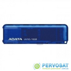 USB флеш накопитель A-DATA 16GB UV110 Blue USB 2.0 (AUV110-16G-RBL)