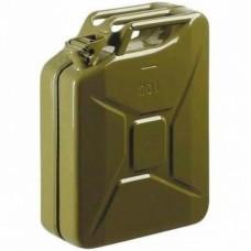 Канистра автомобильная СТАЛЬ металлическая 20 литров (металева 20 літрів)