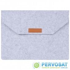 "Чехол для ноутбука AirOn 15,6"" Premium Grey (4822356710622)"
